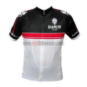 2015 Team Bianchi Pro Riding Clothing Biking Jersey Top Shirt Maillot  Cycliste Black Red White ab05ddaed