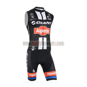 2015 Team GIANT Alpecin Bicycle Sleeveless Vest Kit