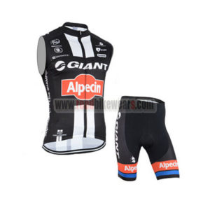 2015 Team GIANT Alpecin Cycling Sleeveless Vest Kit