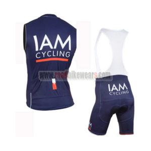 2015 Team IAM Biking Sleeveless Vest Kit