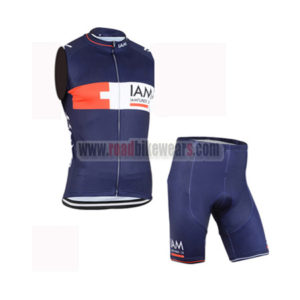 2015 Team IAM Cycling Sleeveless Vest Kit