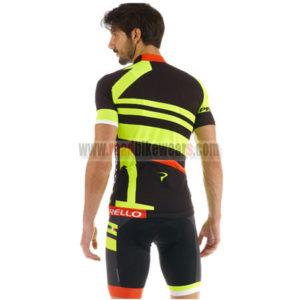 2015 Team PINARELLO Bicycle Kit Black Yellow