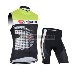 2015 Team SIDI Cycling Sleeveless Kit
