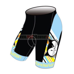 2015 Team Vanderkitten Women's Bicycle Shorts Black Blue