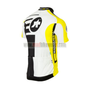 2016 Team ASSOS Biking Jersey Yellow