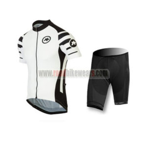 2016 Team ASSOS Cycle Kit White