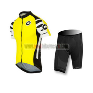 2016 Team ASSOS Training Kit Yellow
