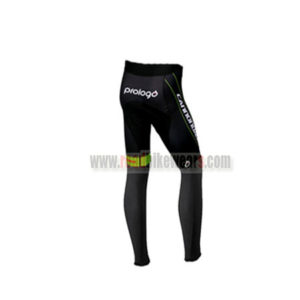 2016 Team Cannondale Cycling Long Pants Tights Black Green