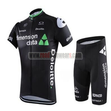 9075c5691 Cycling Skinsuits · Cycling T-shirts. Search for. 2016 Team Dimension data  Deloitte Cycle Kit Black