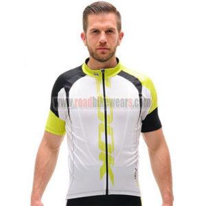 2016 Team LOOK Biking Jersey White Yellow