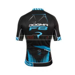 2016 Team PINARELLO DOGMR F8 Biking Jersey Black Blue