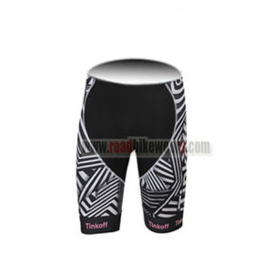 2016 Team Tinkoff SAXO BANK Womens Cycle Shorts Bottoms Black Pink