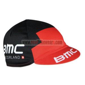 2016 Team BMC Bicycle Cap Hat Red Black