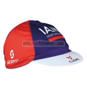 2016 Team IAM Riding Cap Hat Red Blue