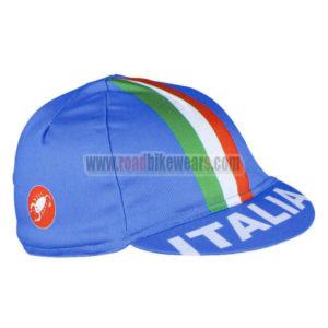 2016 Team ITALIA Biking Cap Hat Blue