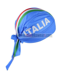 2016 Team ITALIA Cycling Bandana Head Scarf Blue