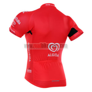 2016 Team LaGazzettadello Sport Tour de Italia Racing Jersey Maillot Red