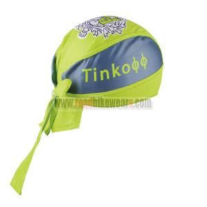 2016 Team Tinkoff Cycling Bandana Head Scarf Green