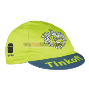 2016 Team Tinkoff Cycling Cap Hat Green