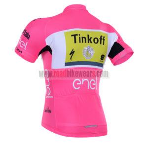 2016 Team Tinkoff LaGazzettadello Sport enel Tour de Italia Riding Jersey Pink