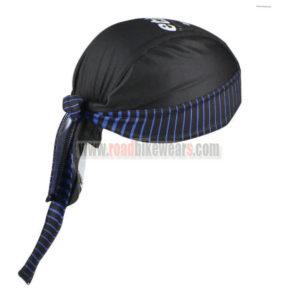 2016 Team etixxl QUICK STEP Riding Bandana Head Scarf Black Blue
