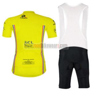 2016 Tour de France Cycle Bib Kit Yellow
