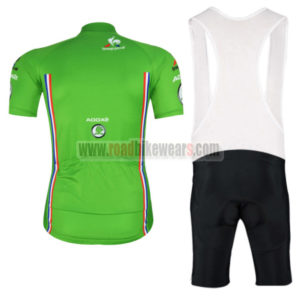 2016 Tour de France Riding Bib Kit Green