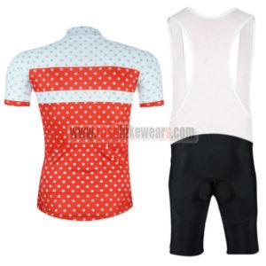 2016 Tour de France Riding Bib Kit Red White