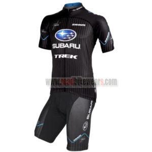 00d08573a 2012 Team SUBARU TREK Summer Winter Biking Wear Riding Jersey and Padded  Shorts Pants Roupas Bicicleta Black Blue
