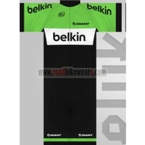 49f6090ad 2013 Team Belkin Summer Winter Biking Wear Riding Jersey and Padded Shorts Pants  Roupas Bicicleta Green Black