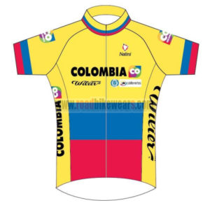 a9c3f712ecc 2014 Team COLOMBIA Bike Clothing Winter Summer Riding Jersey Top Shirt  Maillot Yellow Blue Red