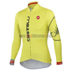 2014-team-castelli-cycling-maillot-jersey-tops-shirt-yellow