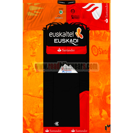e99f3643c 2014 Team Euskaltel EUSKADI Summer Winter Biking Outfit Cycle Jersey ...