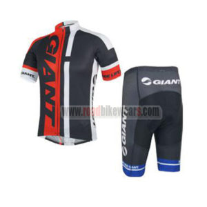 db3fda550 2014 Team GIANT Summer Winter Biking Outfit Cycle Jersey Maillot and Padded  Shorts Pants Roupas Bicicleta Black Red