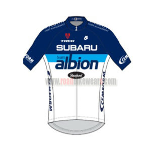 2014-team-subaru-albion-cycling-jersey-maillot-tops-shirt-blue-white