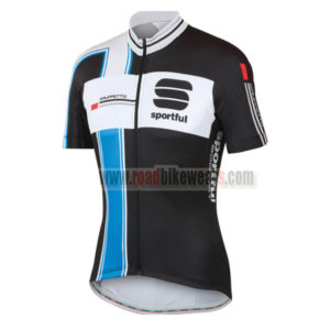 2014-team-sportful-cycling-jersey-maillot-tops-shirt-black-blue