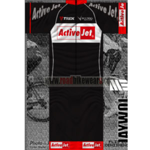 2014 Team TREK Active Jet Summer Winter Biking Outfit Cycle Jersey Maillot  and Padded Shorts Pants Roupas Bicicleta Black 4a447fbed