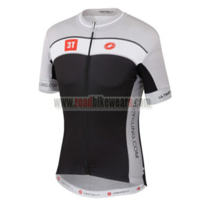 2015 Team 3T Castelli Cycle Wear Winter Summer Riding Jersey Top Shirt  Maillot Grey Black b780ffcce