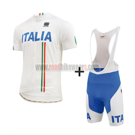 2015 Team ITALIA Biking Uniform Cycle Jersey and Padded Bib Shorts ... 3a122618e