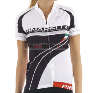 2015 Team PINARELLO Women s Cycle Apparel Winter Summer Riding Jersey Top  Shirt Maillot White Black 4bcaa6ce5