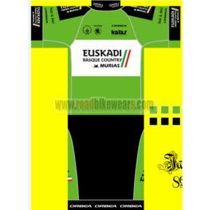 2366d26be 2016 Team EUSKADI kalar ORBEA Summer Winter Biking Outfit Cycle Jersey  Maillot and Padded Shorts Pants Roupas Bicicleta Green Black