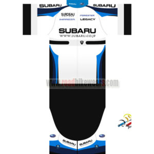 5e6764ff6 2016 Team SUBARU Summer Winter Riding Clothing Cycle Jersey Maillot and Padded  Shorts Pants Roupas Bicicleta White Blue Black