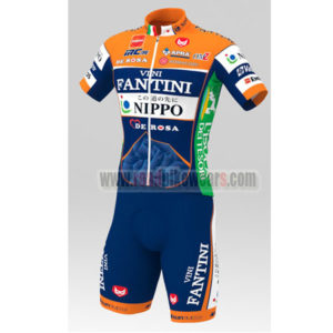 66ab64c5c 2016 Team VINI FANTINI NIPPO DE ROSA Summer Winter Riding Clothing Cycle  Jersey Maillot and Padded Shorts Pants Roupas Bicicleta Orange Blue