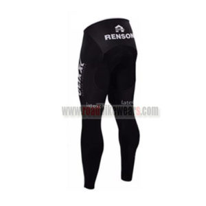2016 Team etixxl QUICK STEP Biking Long Pants Tights Black