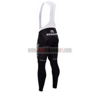 2016 Team etixxl QUICK STEP Riding Long Bib Pants Tights Black