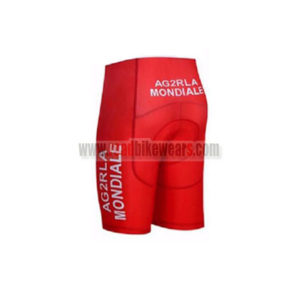 2017 Team AG2R LA MONDIALE CANADA Biking Shorts Bottoms Red
