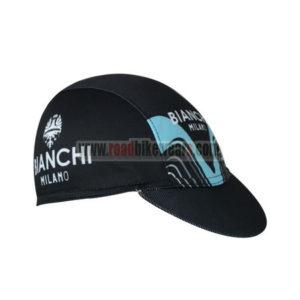 2017 Team BIANCHI MILANO Riding Cap Hat Black Blue