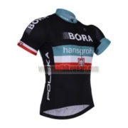 2017 Team BORA hansgrohe Poland Biking Jersey Maillot Shirt Black