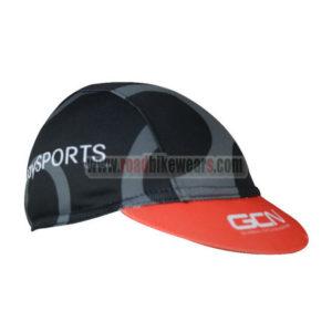 2017 Team GCN Riding Cap Hat Black Red
