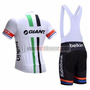 2017 Team GIANT Rabobank Riding Bib Kit White